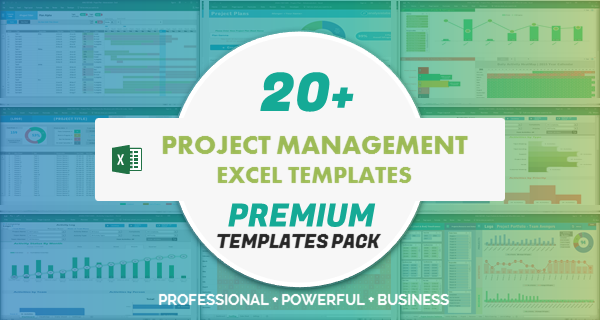 Project Management Excel Templates Pack