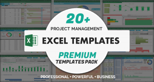 Project Management Excel Templates Premium Pack