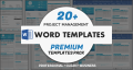 Project Management Word Templates Premium Pack